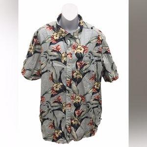 Tommy Bahama Mens Short Sleeve Hawaiian Shirt